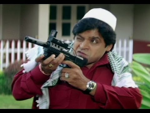 Swagatam Comedy Scene | Ali Buildup As Terrorist Screaming Jihad