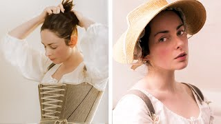 Video Getting dressed in the 18th century - working woman MP3, 3GP, MP4, WEBM, AVI, FLV Januari 2019