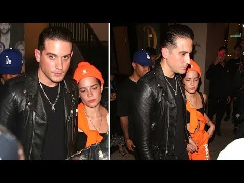 Halsey Holds Hands With Rapper G-Eazy After He Moves On From Lana Del Rey