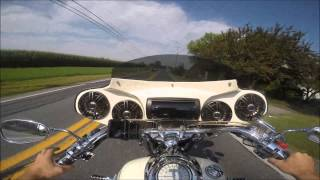 7. 2012 Yamaha road star 1700 test ride Review