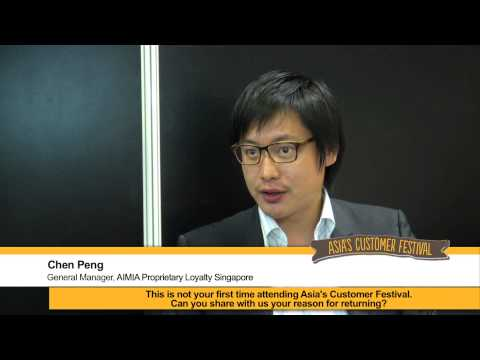 Testimonial from AIMIA Proprietary Loyalty Singapore