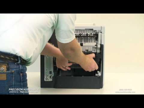 HP LaserJet P4015 Maintenance Kit Instructional Video