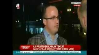Av. Bülent Turan: Yüksek Mahkemelerde Üye/Daire sayısını arttırmak adil yargılanma gereği!