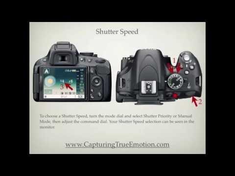 Nikon D5100 Settings
