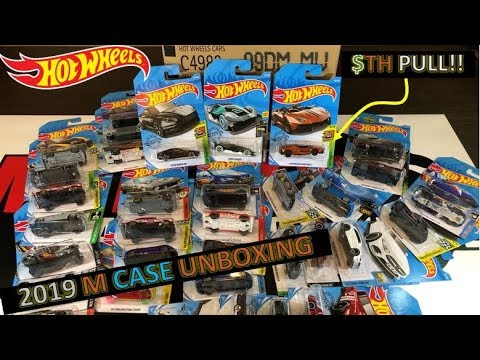 HOT WHEELS 2019 M CASE UNBOXING- Super TH Lambo PULL!!! BEST CASE!