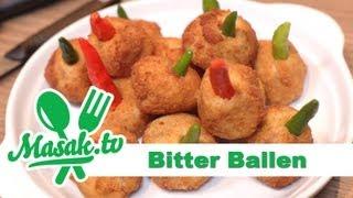Bitter Ballen Khas Belanda