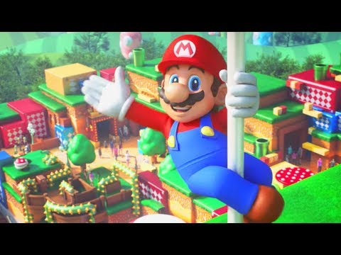Super Nintendo World revealed for Universal Studios Japan, opening 2020