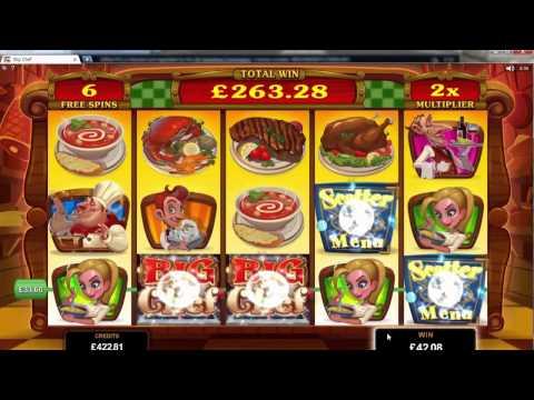 Big Chef Slot - Microgaming Super Big Win