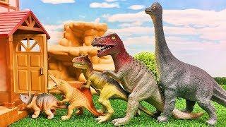 Video Dinosaurs for kids | Dinosaurs will go home 恐竜のおもちゃがすぽすぽと家に帰るよ 子供向け Gizmone MP3, 3GP, MP4, WEBM, AVI, FLV Juli 2019