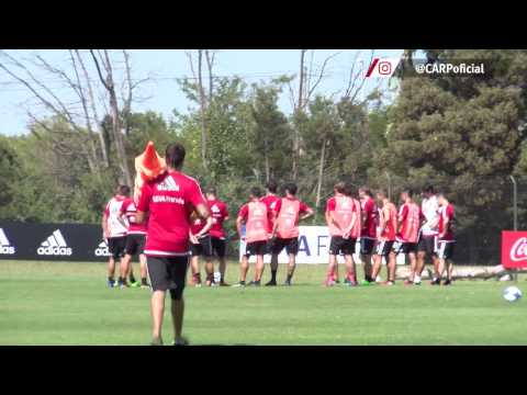 Entrenamiento en River Camp (07/02)