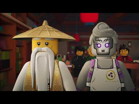 Et smukt venskab - LEGO NINJAGO - Wus teer Episode 20