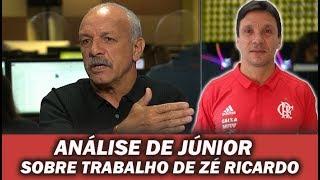 Júnior analisa o trabalho de Zé Ricardo após derrota para o Grêmio