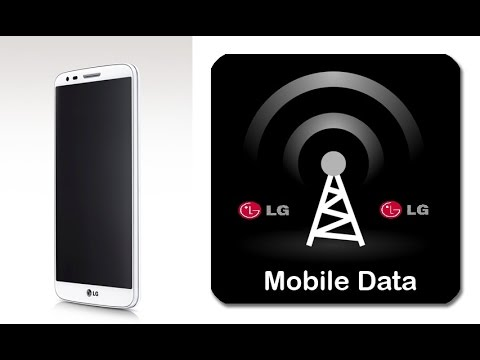 How To On Mobile Data in LG Mobile phones