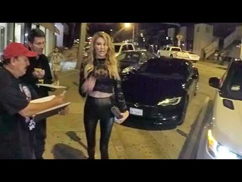 Video Brandi Glanville Shows Off Super Sexy Bod In Skin-Tight Leather Pants download in MP3, 3GP, MP4, WEBM, AVI, FLV January 2017