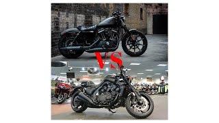 9. HOT NEWS!!!  Comparison 2018 Harley Davidson Sportster® Iron 883 VS 2018 Yamaha VMAX