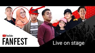 Download Video Bayu skak dan Raditya Dika NGEJEK Ria ricis sampai nangis - Youtube FanFest 2017 MP3 3GP MP4