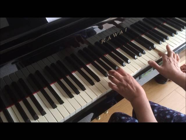 (アフター)大人初心者「ジュピター」を弾いてみた。