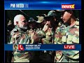 PM Modi celebrates Diwali with Armed Forces in Gurez sector, LoC - Video