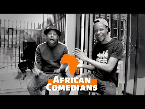 African Comedians Ep 2  (Introducing Siya Seya)