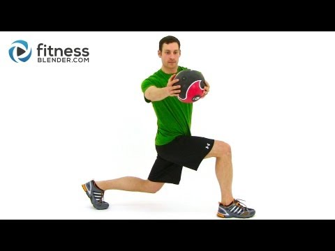 Total Body Medicine Ball Workout – Medicine Ball Exercises