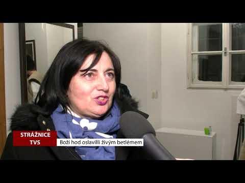 TVS Strážnice - Boží hod oslavili živým betlémem