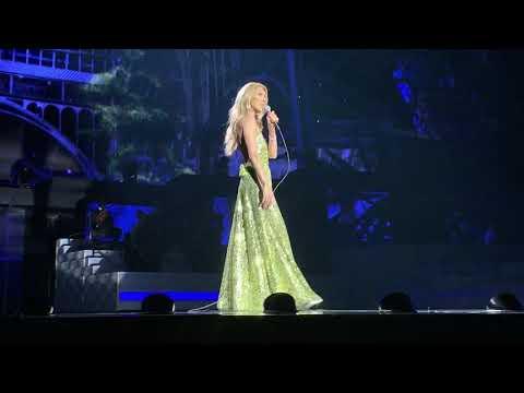 """Céline Dion, """"Pour que tu m'aimes encore,"""" Live at the Colosseum at Caesars Palace, 2 January 2019"""