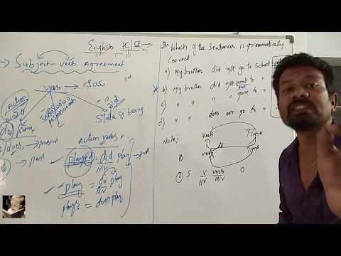 #TSLPRB -1- PC & SI English grammar model questions with solutions by RP Sir