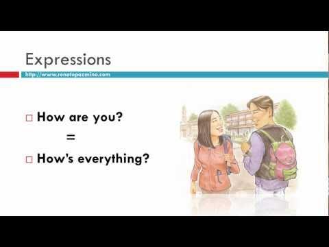 Curso de Ingles 00 Greetings - Saludos