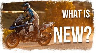 6. What has changed? BMW R1250 GS Adventure REVIEW - offroad and onroad