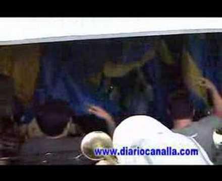 Video - LA BARRA BRAVA ROSARIO CENTRAL LOS GUERREROS - TROMPETAS - Los Guerreros - Rosario Central - Argentina