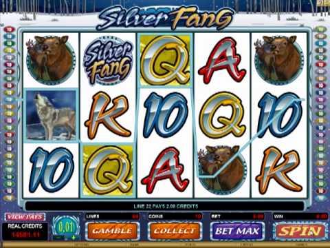 EmuCasino Online Pokie - Silver Fang