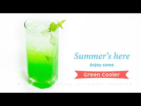 Green Cooler Mocktail Recipe | Quick, Easy & Refreshing