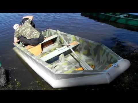 Лодка своими руками из пвх труб