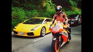Video Marquez GP Machine Joins Asama Hill Climb. MP3, 3GP, MP4, WEBM, AVI, FLV September 2018