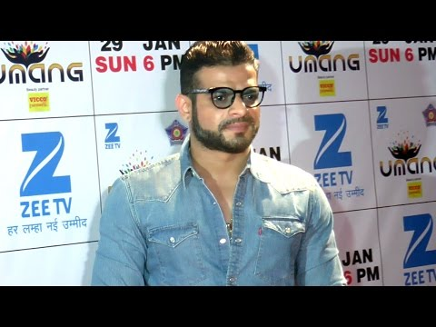 Ye Hai Mohabbatein actress Karan Patel at Umang 20