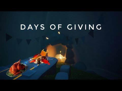 DAYS OF GIVING♥️ | HAPPY THANKSGIVING EVERYONE 😬 | sky children of the light | Noob Mode