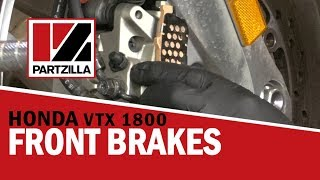 8. How to Change the Front Brake Pads on a Honda VTX 1800 | Partzilla.com