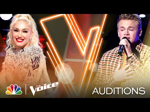 """Lain Roy Puts His Spin on Lewis Capaldi's """"Someone You Loved"""" - The Voice Blind Auditions 2020"""