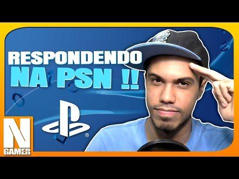 RESPONDENDO algumas MENSAGENS da PSN !! - Noberto Gamer