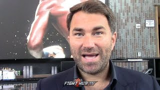EDDIE HEARN RESPONDS TO RUIZ JR'S 50 MILLION UK REMATCH DEMAND; REVEALS JOSHUA WANTS REMATCH IN U.S.
