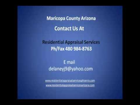 Residential Appraisal Services Phoenix Arizona