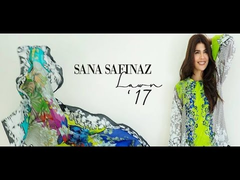 Sana Safinaz Lawn 2017 Summer Collection Latest Design (видео)