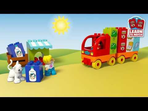 Vidéo LEGO Duplo 10818 : Mon premier camion