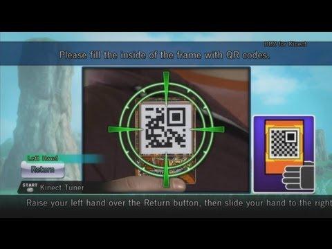 Dragon Ball Z Kinect - Scan QR