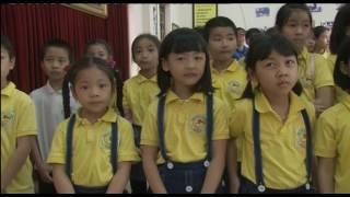 Trường tiểu học Trưng Vương: Tham quan nhà truyền thống thành phố