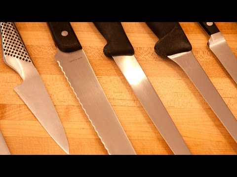 Kitchen Knives Essential Tutorial - Chef Knife Kit Essential