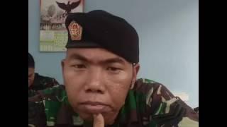 TNI duet sama cwe lagu malaysia tak mungkin berpaling