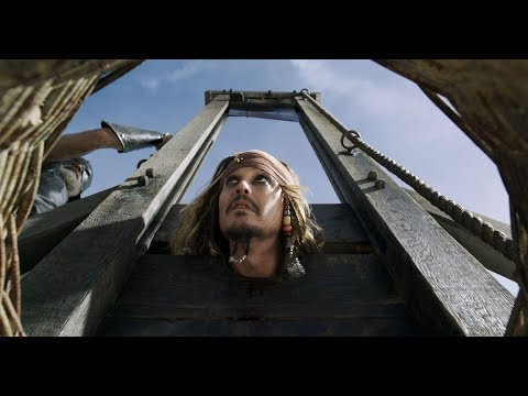 Pirates of The Carribean 5: Execution scene