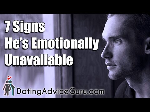 Definition of Emotionally Unavailable - Dating Tips