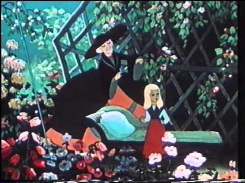 Snedronningen (1957)  - Russisk tegnefilm m. dansk tale (Danish dubbed) VHS-rip